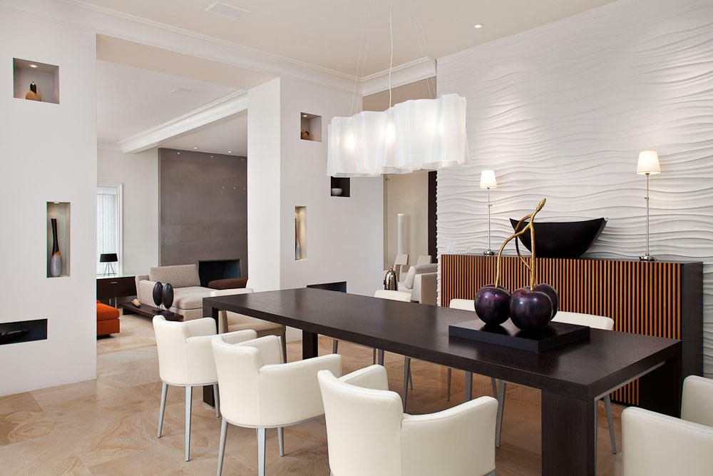 25 Best Contemporary Dining Room Design Ideas | Dining room light ...