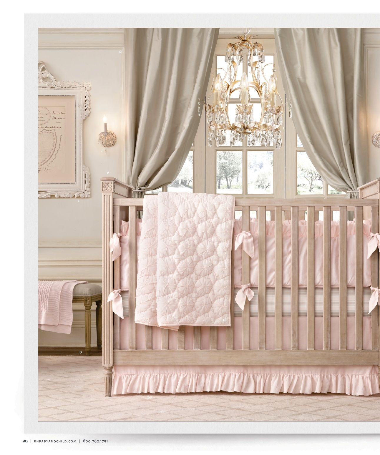 22 Baby Room Designs And Beautiful Nursery Decorating Ideas: Restoration Hardware Baby & Child