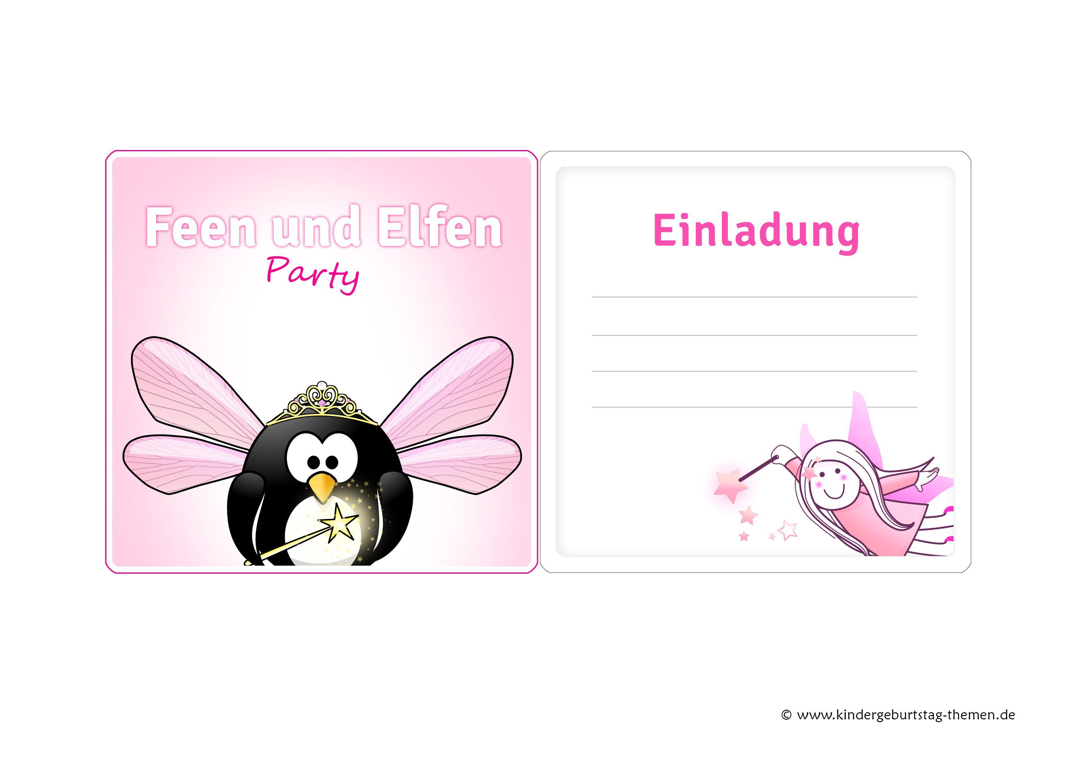 Einladung Kindergeburtstag Zum Ausdrucken Pferde Kindergeburtstag ...