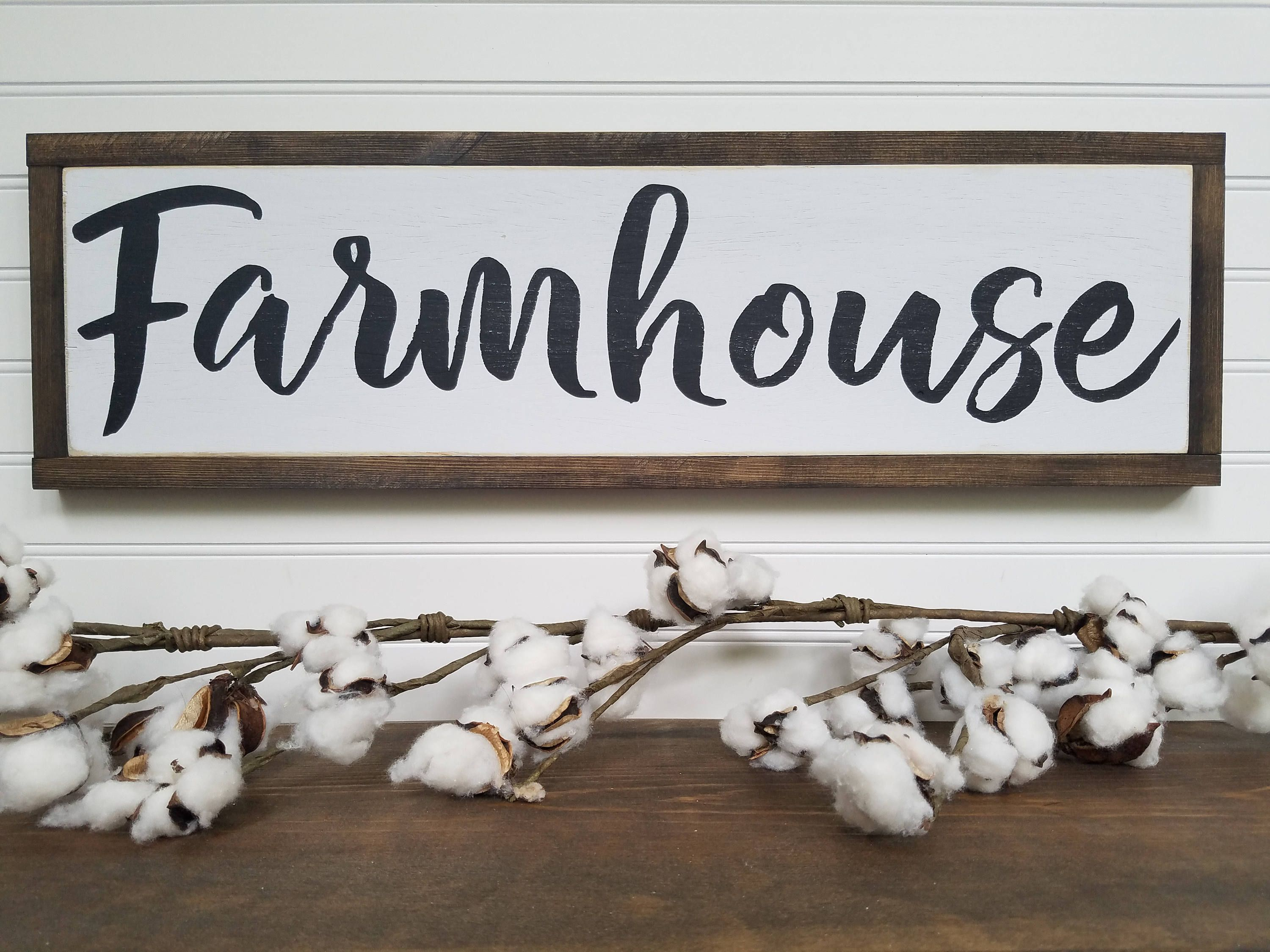 Farmhouse Sign Farmhouse Wood Signs Wooden Signs Farmhouse Signs Rustic Signs Farmhouse Decor By Wooden Signs Diy Wooden Signs Custom Wooden Signs