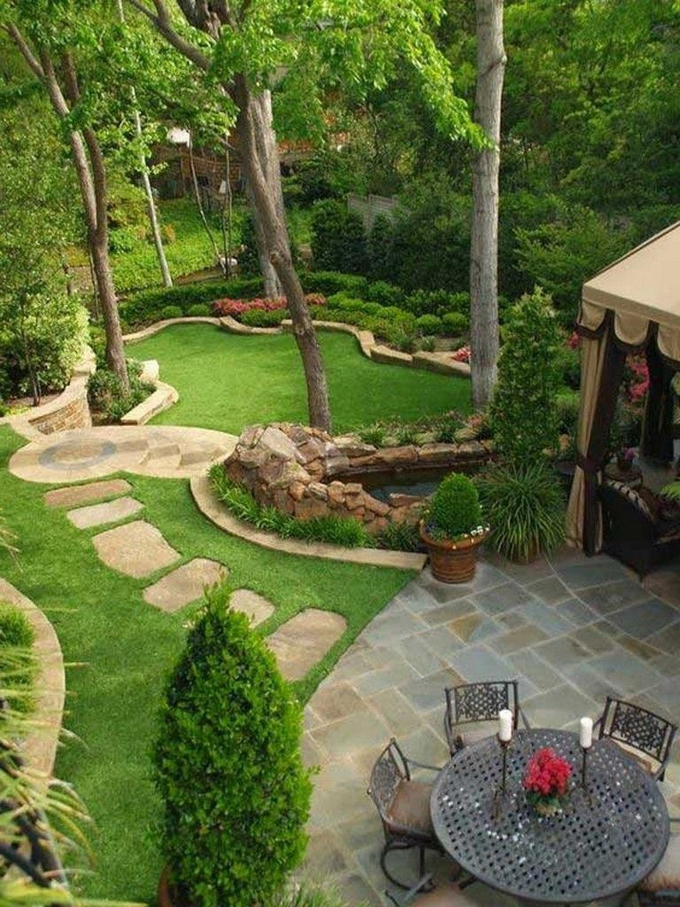 Small Backyard Landscaping Ideas On A Budget Di 2020 Desain Taman Kebun Kecil