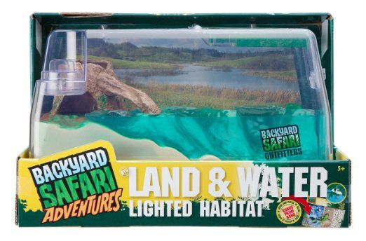Backyard Safari Land and Water Lighted Habitat - Coupon Codes, Discounts | Best Deals for Kids