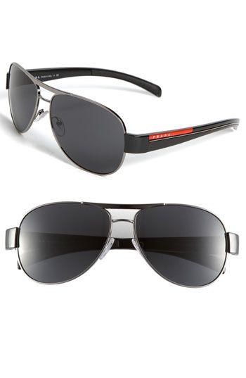 Prada Aviator Sunglasses available at #Nordstrom
