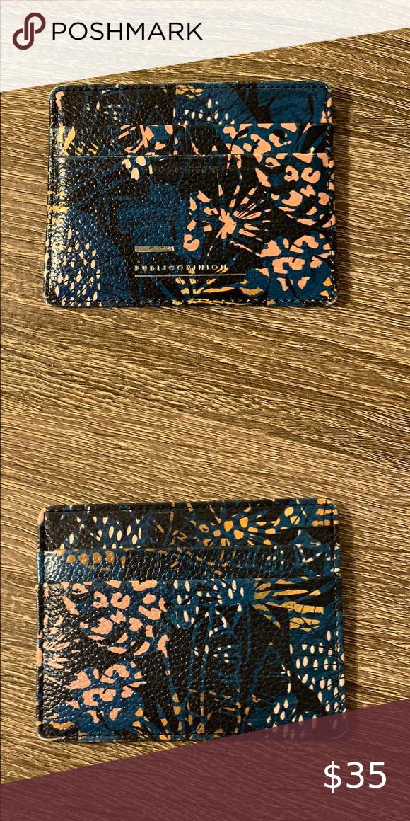 floral print card holder in 2020  floral prints card
