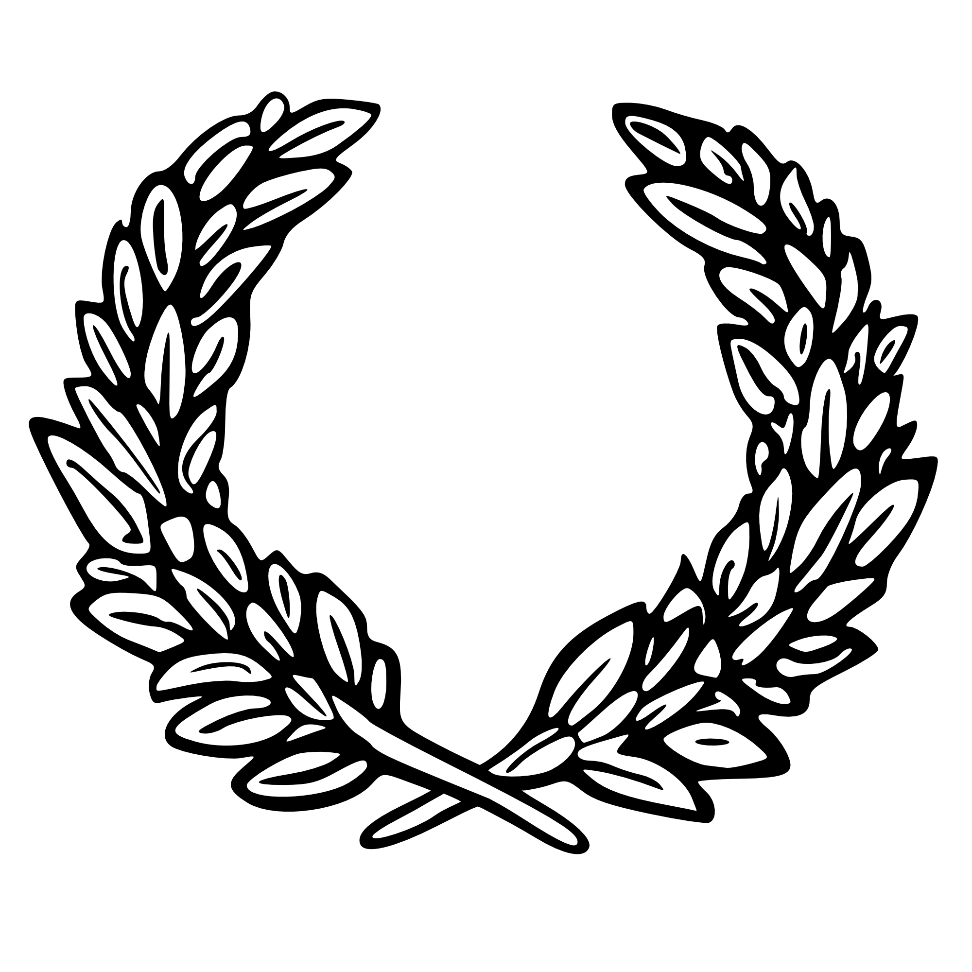Tattoo Laurel Wreath Desain Png