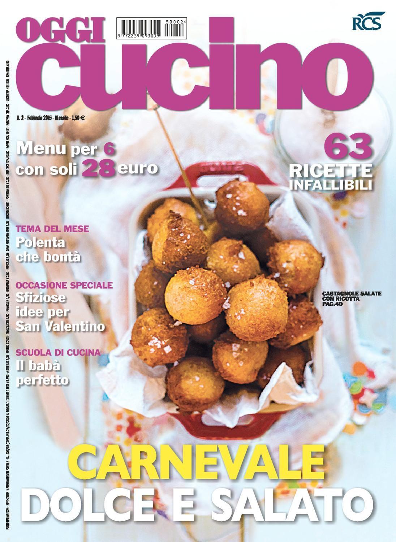 Oggi cucino n 2 febbraio 2015 riviste cucina e libri for Cucina moderna giornale