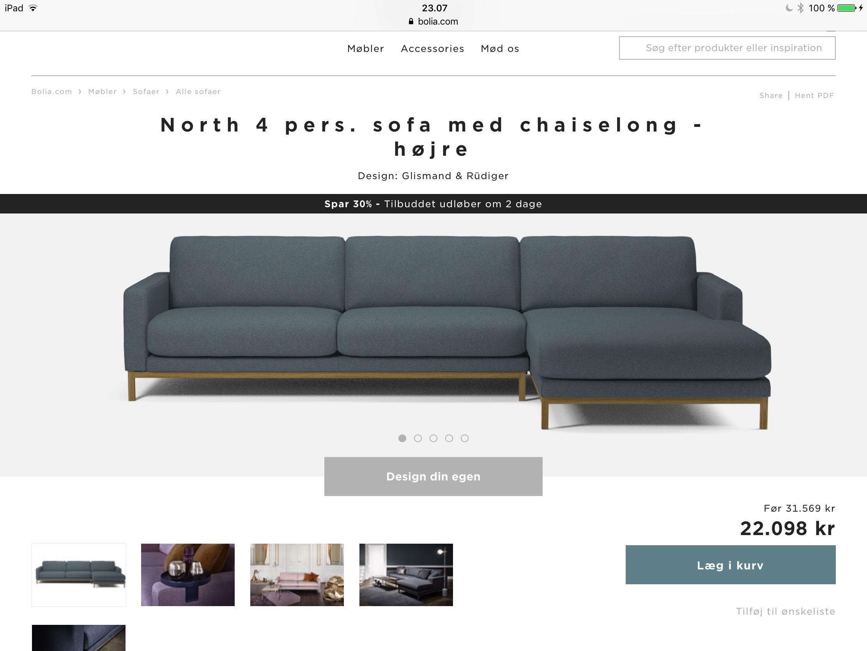 Pin Af Line Stig Pa Pejsestue Med Billeder Sofa Med Chaiselong Sofa Chaiselong