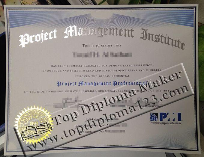 PMP certificate, PMI certificate | Buy certificate, buy university ...