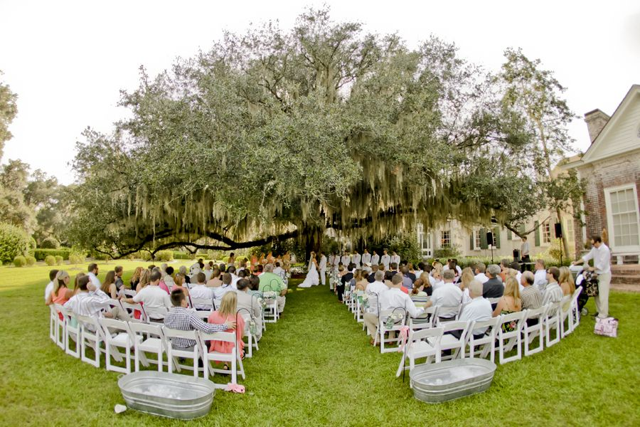 Wedding Photography By David At Pebble Hill Plantation In Thomasville GA