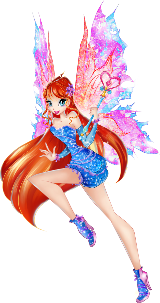 Bloom mythix 2d by ananaykindo winx club pinterest - Bloom dessin anime ...