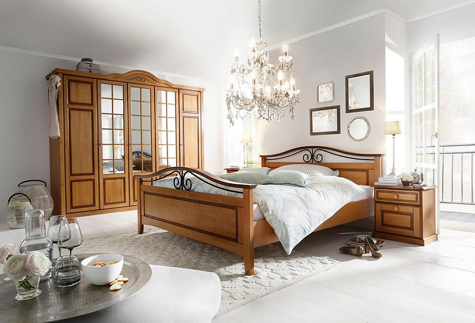 Premium Collection By Home Affaire SchlafzimmerSet Carlo 48tlg Beauteous Bedroom Boards Ideas Collection