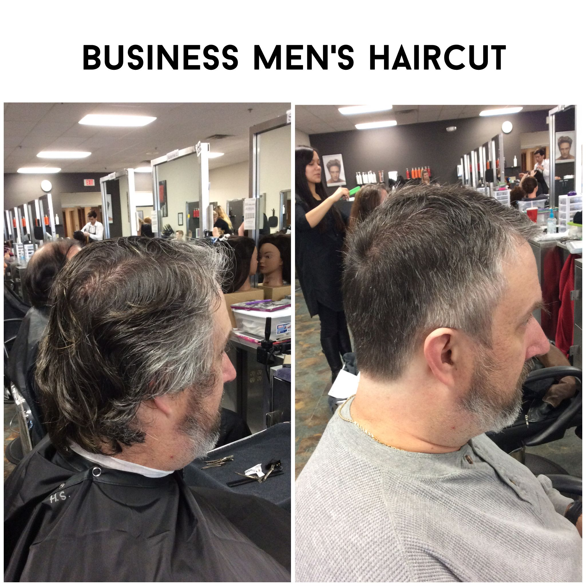 Business Mens Haircut Clipper Up To Finger Length Haircuts