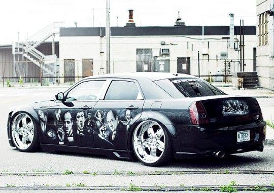 Chrysler 300 With Images Chrysler 300 Chrysler Chrysler 300 Srt8