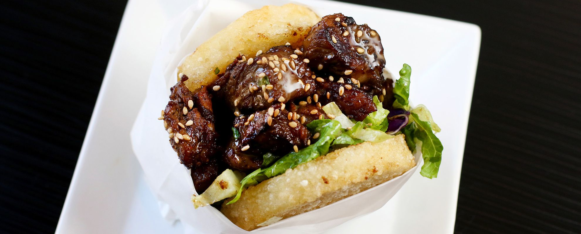 Koja Kitchen Short Rib Kamikaze Combo Bbq Beef Sandwiches I