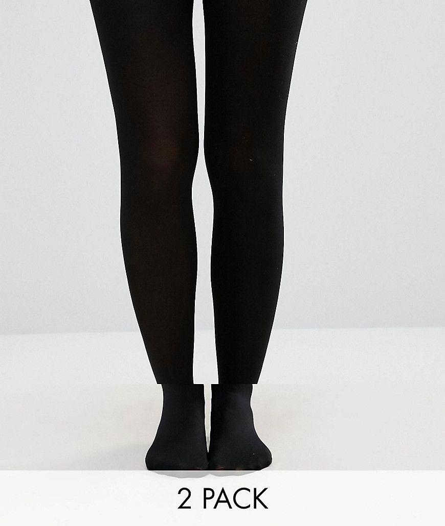 a5f84cf5e8e NEW LOOK 2 PACK 100 DENIER TIGHTS - BLACK.  newlook  cloth