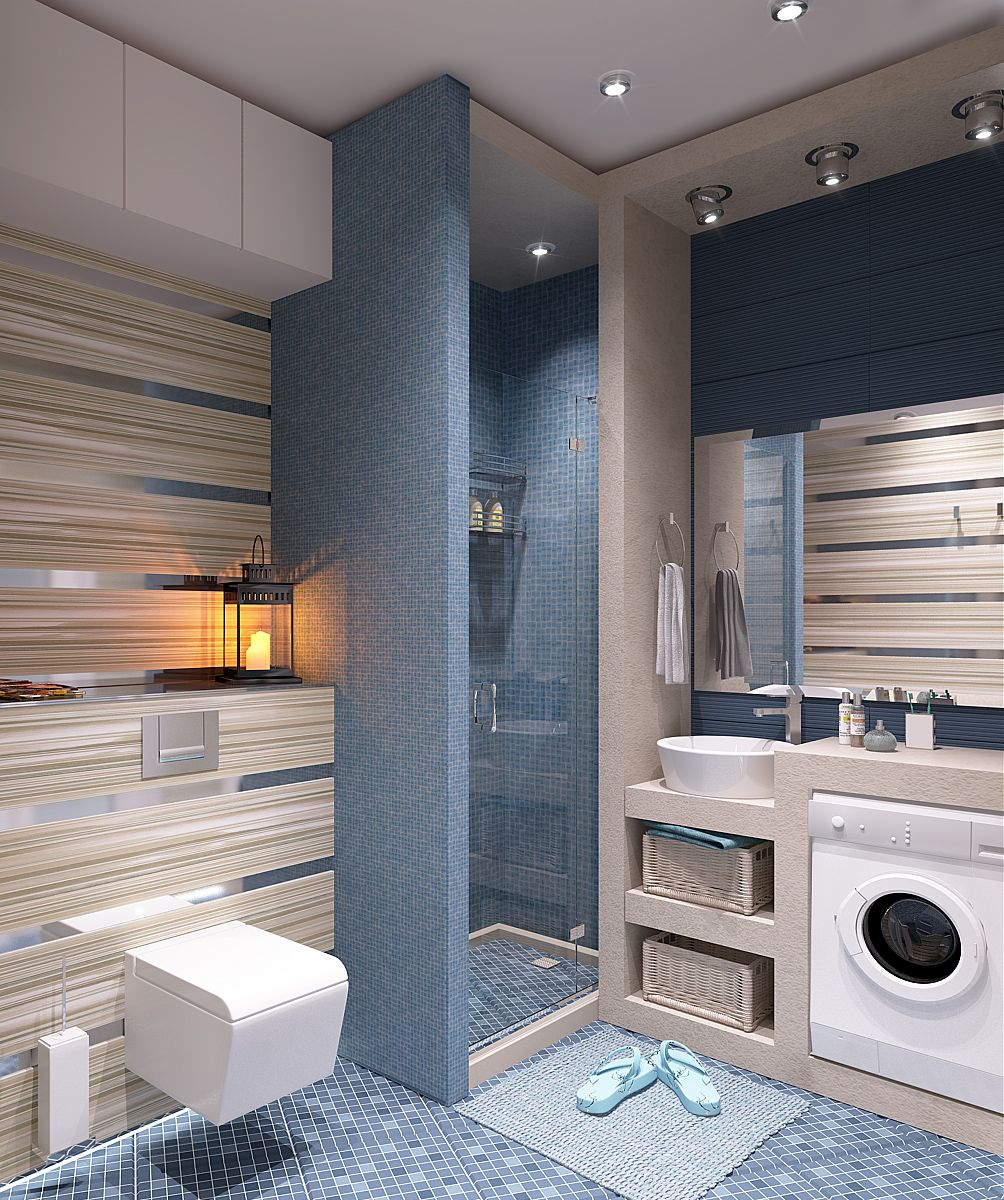 Toilet With Washing Machine Going To Do This Idea They Do It In Holland And Sweden Laundry Room Bathroom Stylish Bathroom Bathroom Model