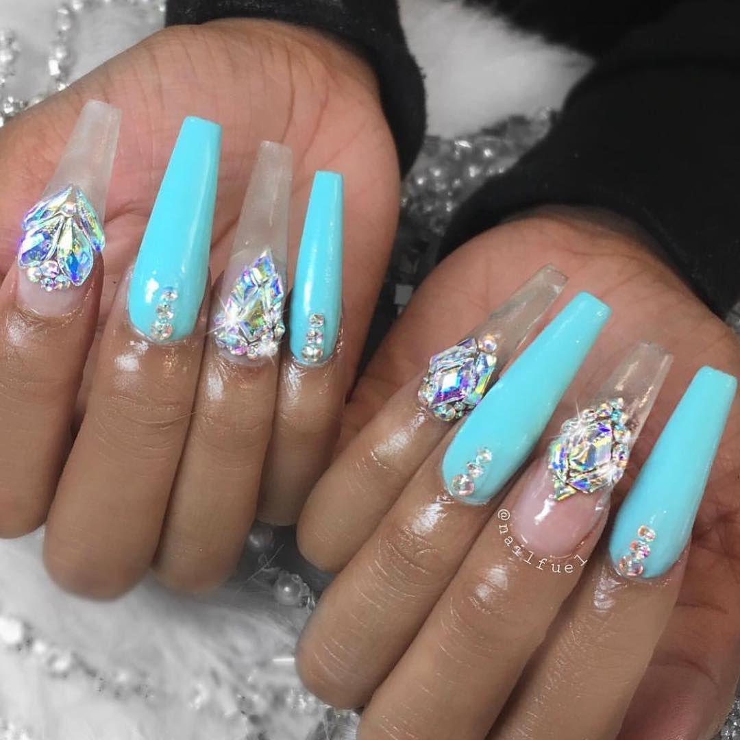Barbiiesosa diy acrylic nails long acrylic nails