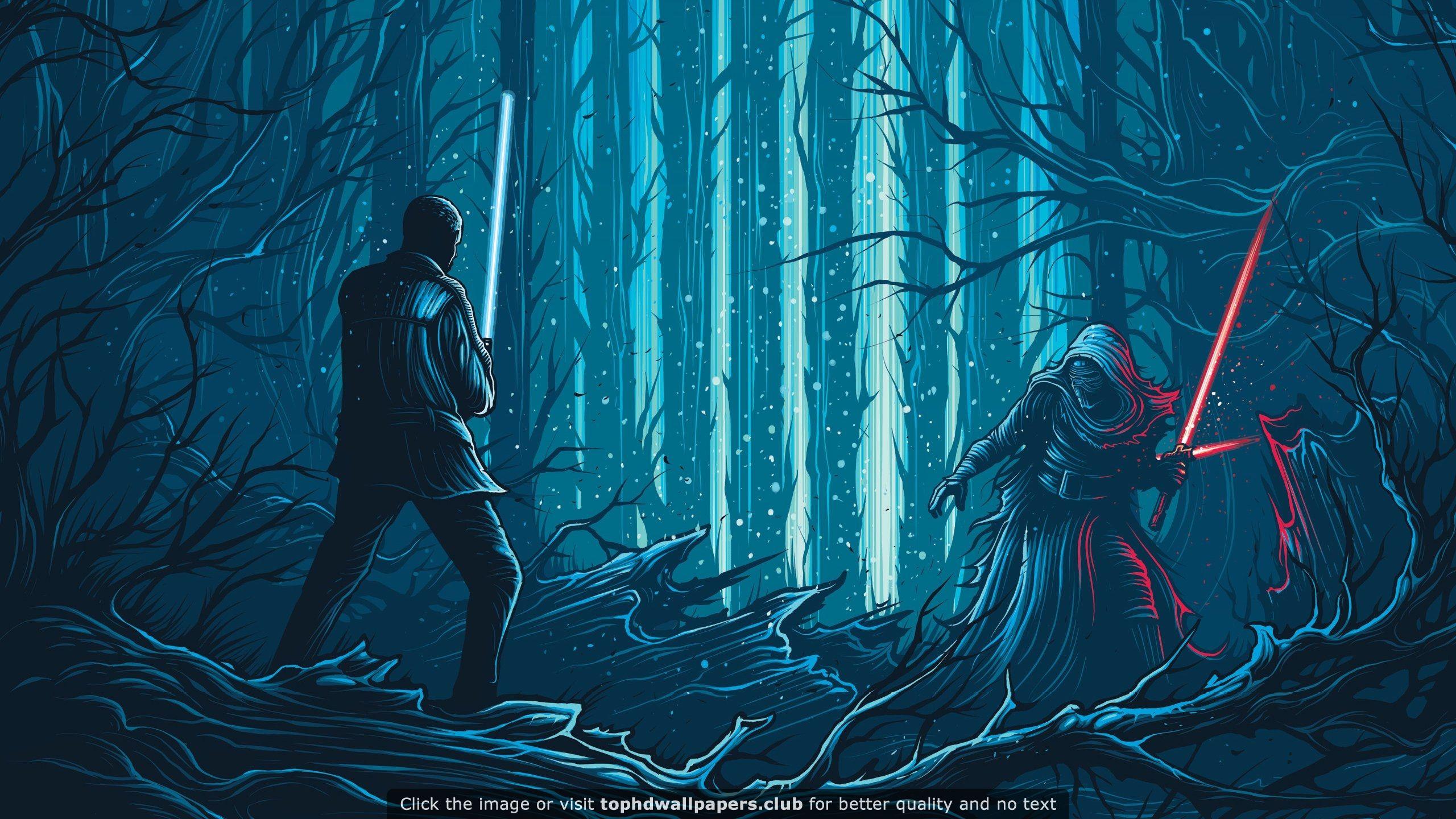 Star Wars Fight Scene Hd Wallpaper Star Wars Illustration Star Wars Wallpaper Star Wars Background