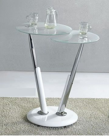 Swirl White Glass Bar Table With 2 Glass Tops | Home Changes ; Kitchen Idea  | Pinterest | Bar Tables, White Bar Table And Glass Bar Table