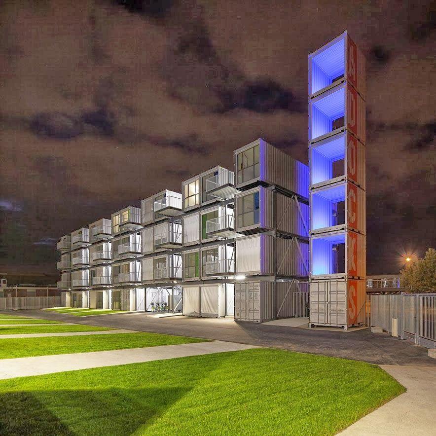 Container SA: Apartamento Container: Solução Residencial