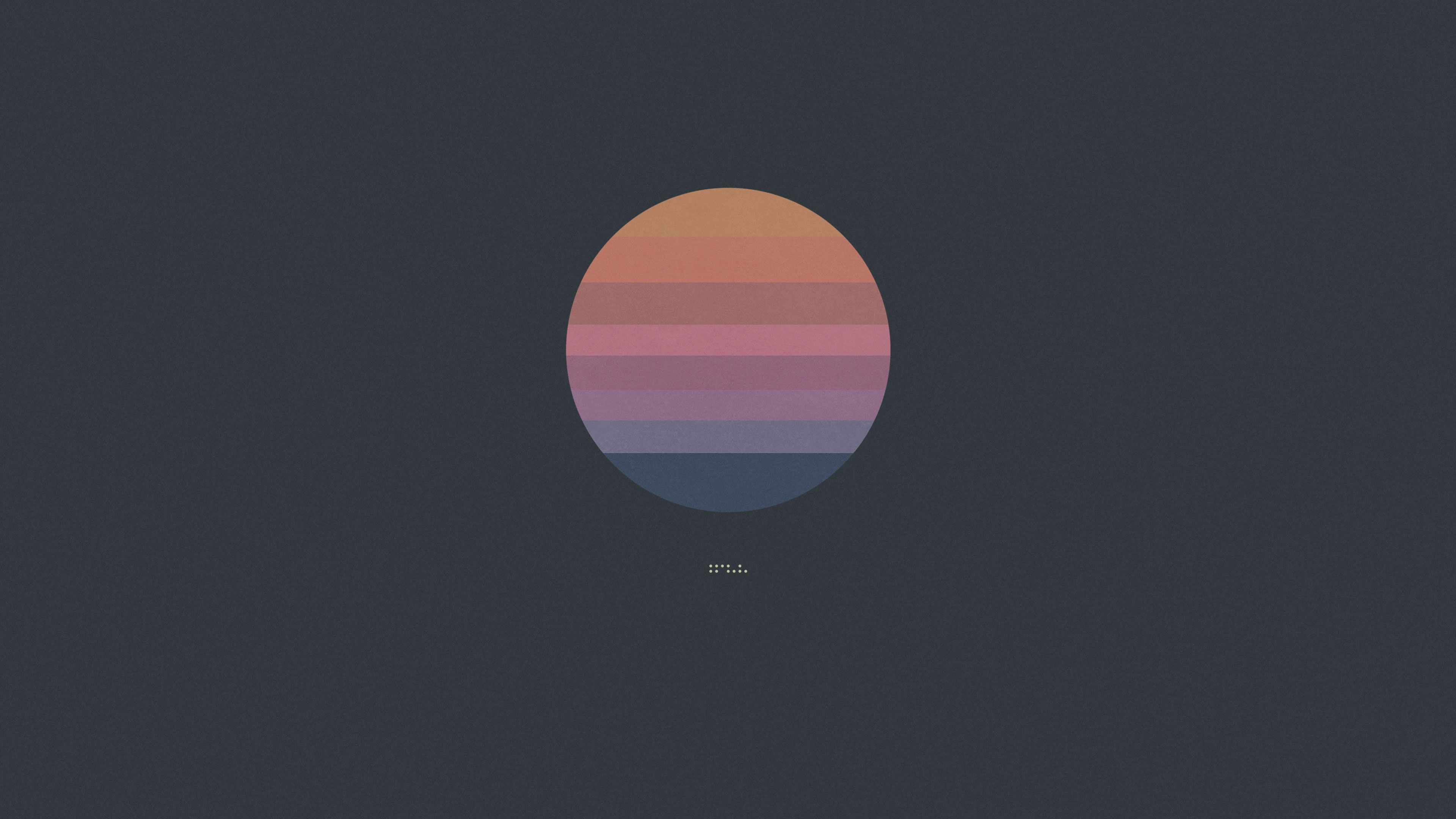 simple background #pastel #circle #Tycho #4K #wallpaper # ...