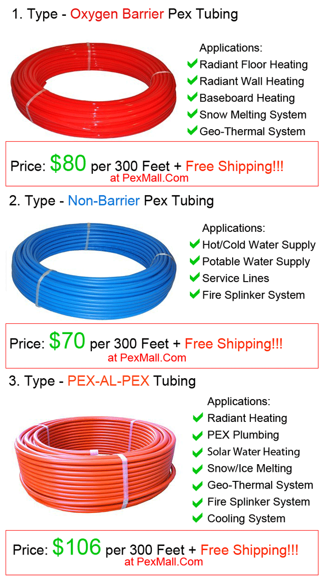All About Canarsee Price Sales Free Shipping For Pex Tubing Pex Tubing Baseboard Heating Radiant Floor Heating