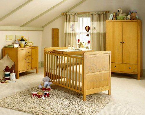 muebles habitacion bebe Ideas para Decorar la Habitación del Bebé ...