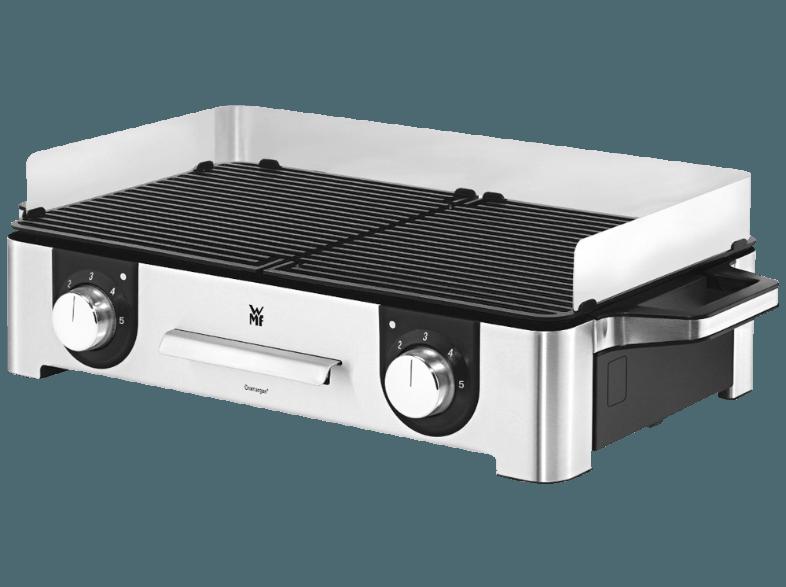met de lono family grill rvs van wmf kunt u binnen en buiten grillen het afneembare windscherm voorkomt spatten op de tafel en beschermt de prodcuten op de grill