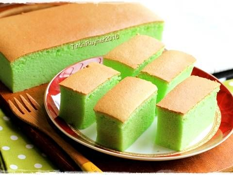 Pin Di Pandan Cake