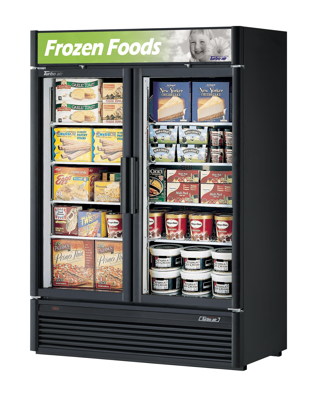 Freezer 46.2 Cu. Ft, 2 Swing Doors // Congelador 46.2 Pies