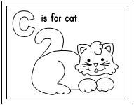 whole alphabet coloring pages - photo#24