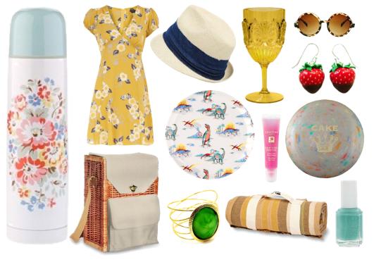 picnic musts / jordan reid / ramshackle glam