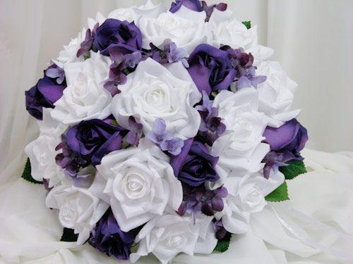 Clairelouises Blog Simple Outdoor Wedding Cake Boss Purple BouquetsBouquet WeddingBridal