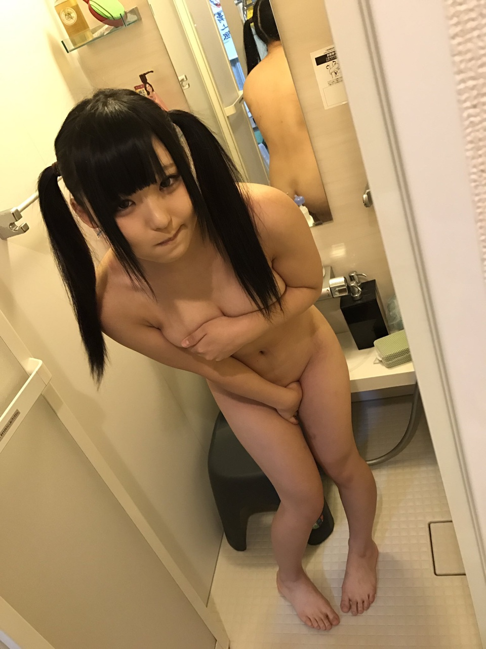 lingerie naked japanese girl