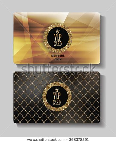 Stokovye Vektora I Vektornyj Klip Art Game Vip Vip Card Luxury Business Cards Card Design