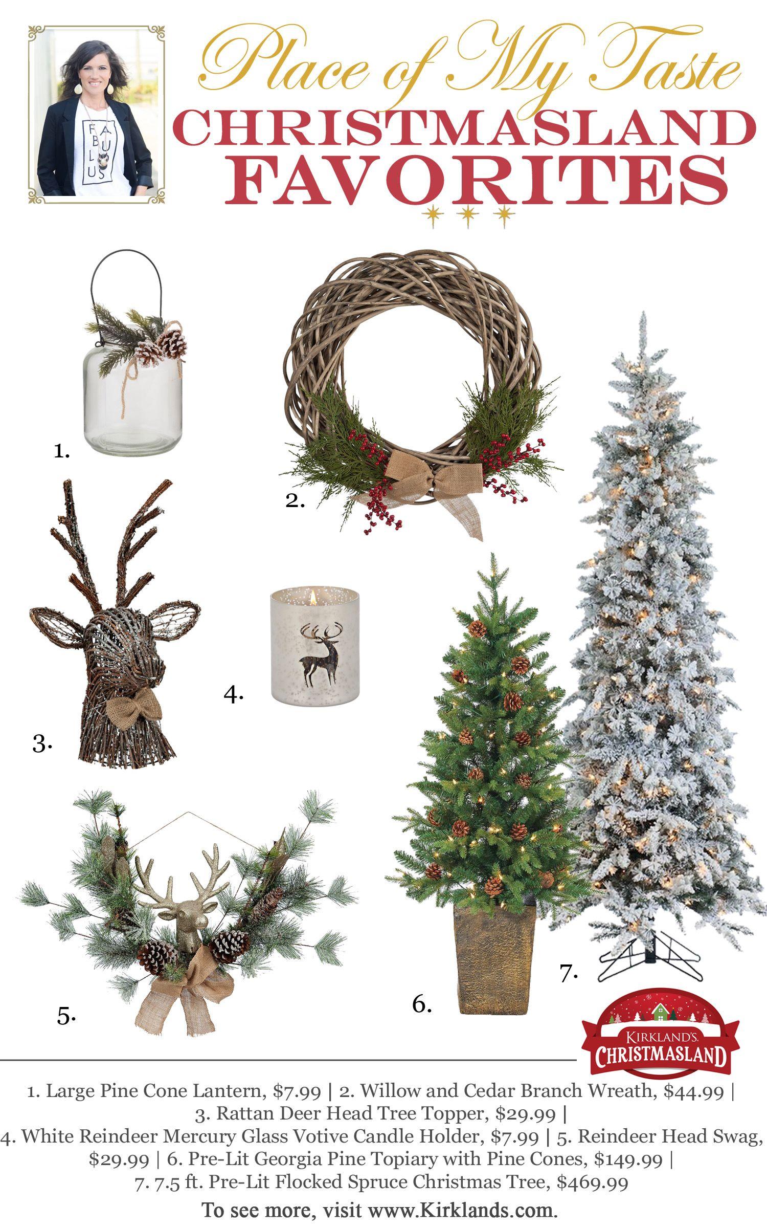 A FESTIVE CHRISTMAS ENTRYWAY DECOR WITH KIRKLAND\'S | Decorating for ...