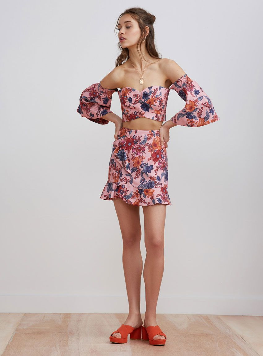 245be7208c35 Finders Keepers Rhapsody Mini Skirt – Blossom Floral