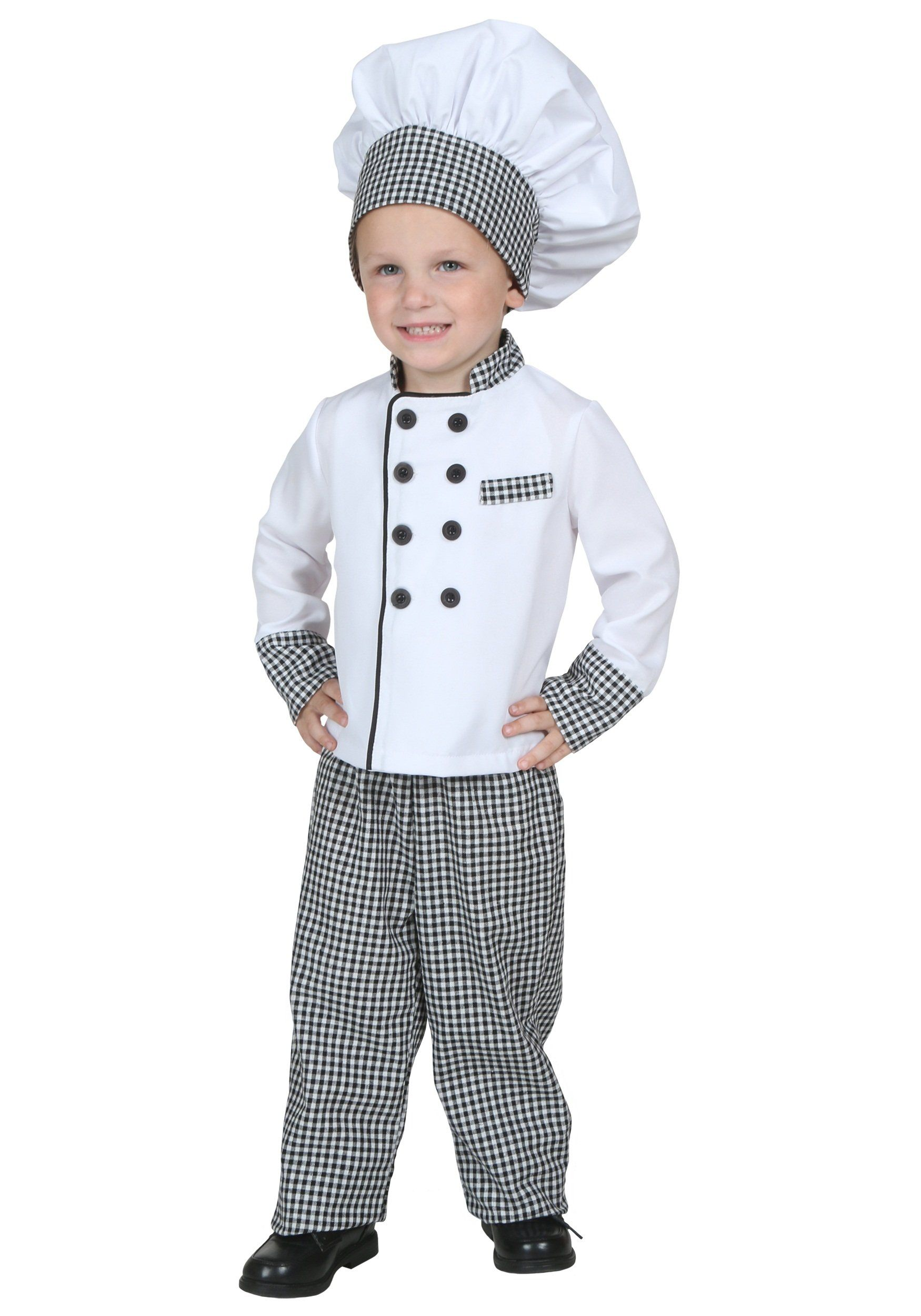 Toddler Chef Costume 4T Chef costume, Kids chef