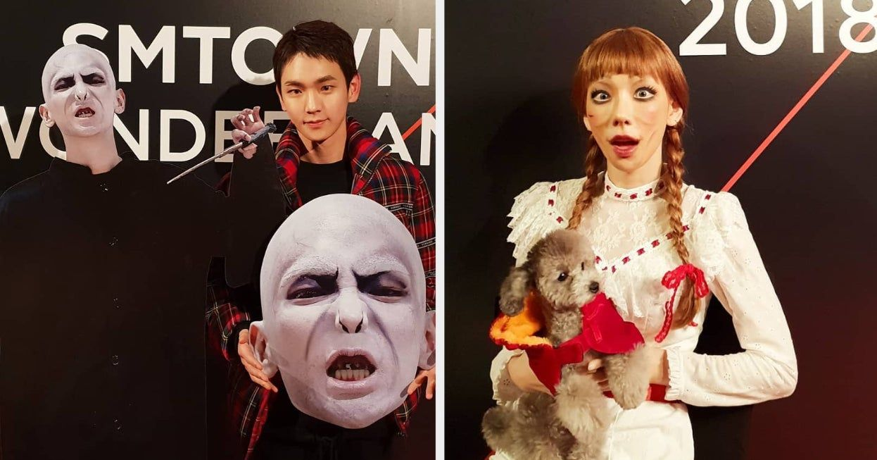 Which Iconic Smtown Halloween Party Costume Should You Wear This Year Halloween Party Costumes Costume Party Halloween Party