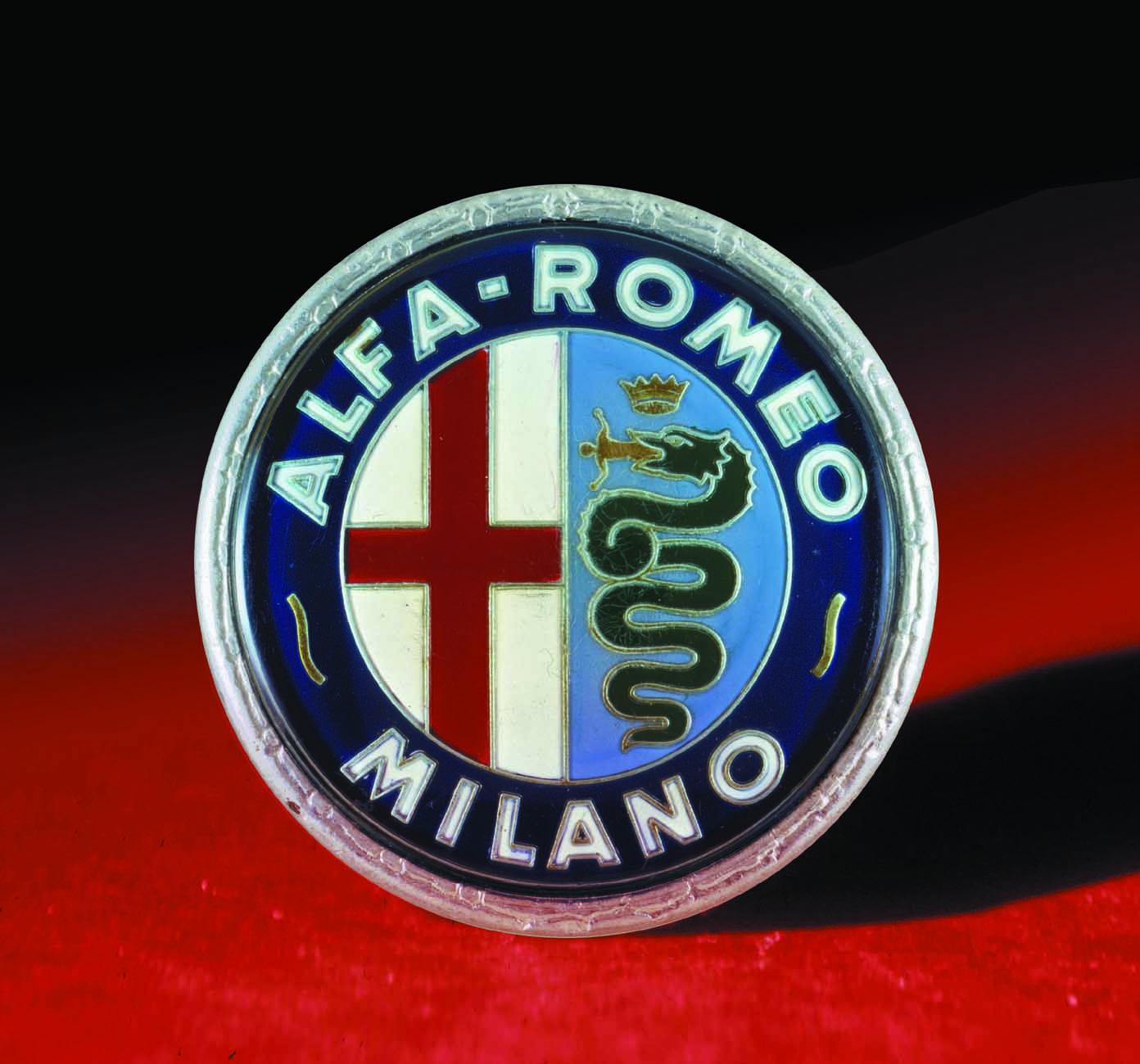 Logo Alfa Romeo 1960 - 1972