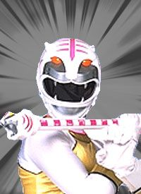 Alyssa - White Wild Force Ranger Honorable mention because she's basically like the pink ranger of Wild Force even if she's the white ranger.