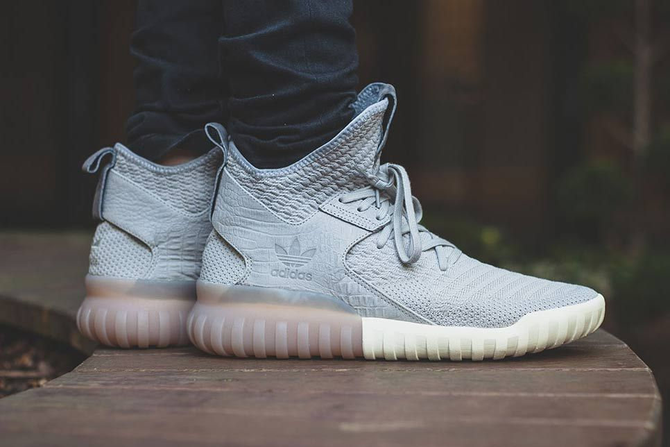 Adidas Originals Tubular X Primeknit Clear Granite Adidas