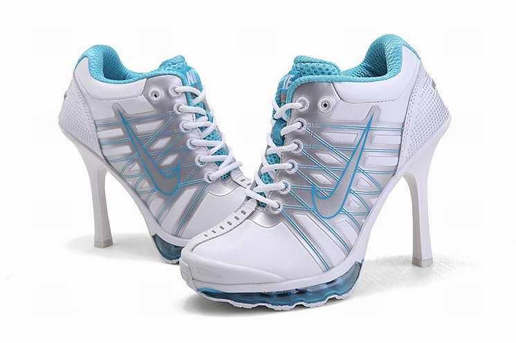 For Wholesale 2012 Nike Air Max High Heels Light Blue White For Sale  Special Offer