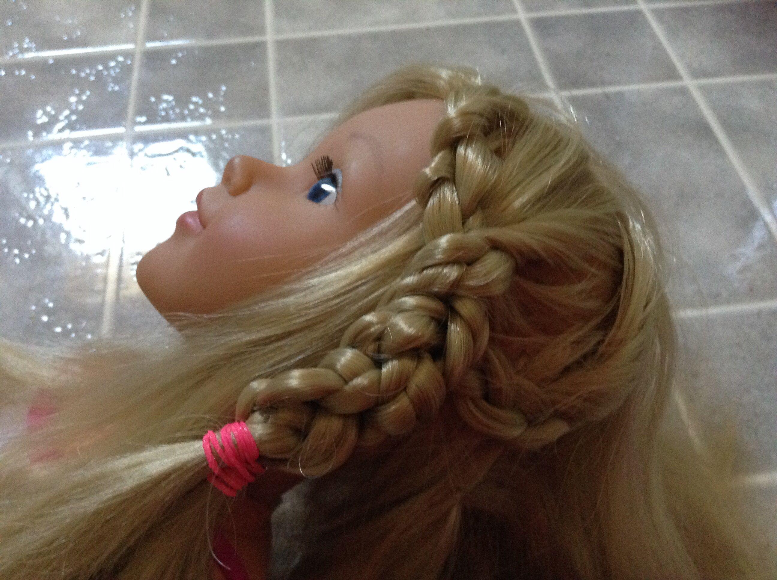 Basked wave newberry girl doll hair style pinterest doll hair