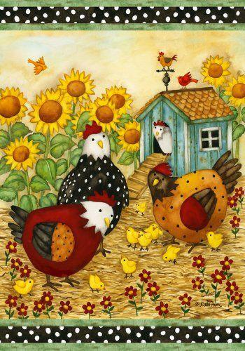 Chicken Garden Decorations