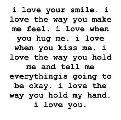 cute quotes to say i love you