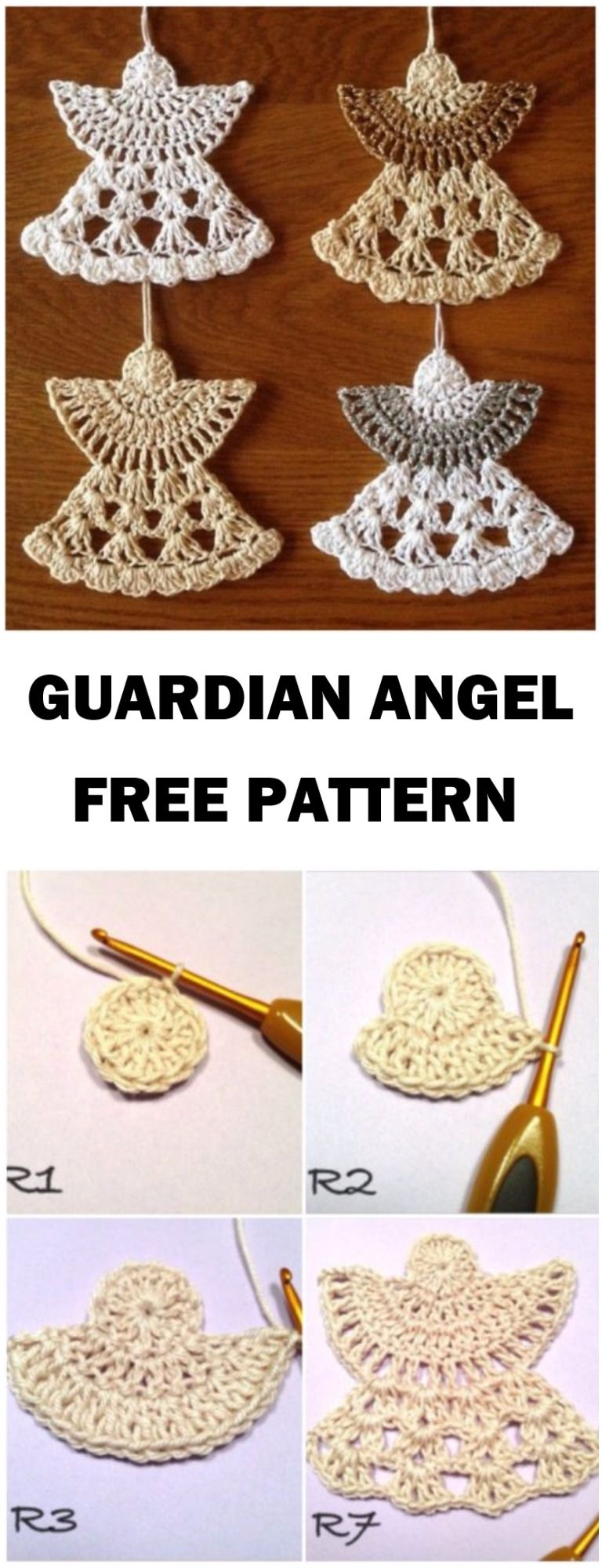 Learn To Crochet Guardian Angel