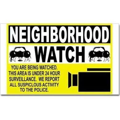 neighborhood watch decals - Google Search