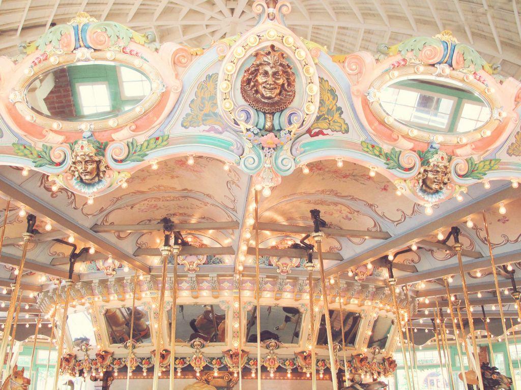 ❤️ Vintage Carousel ❤️ - Glen Echo Park, Maryland