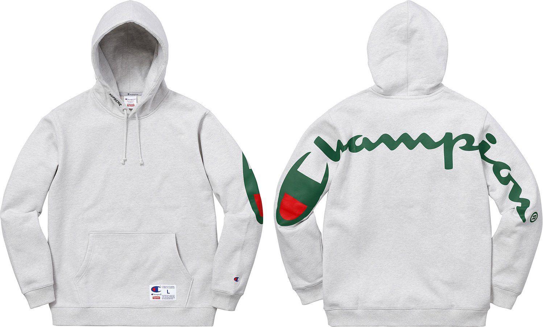 Supreme Supreme Champion Hooded Sweatshirt Champion Hooded Sweatshirt Hooded Sweatshirts Sweatshirts [ 900 x 1498 Pixel ]